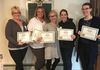Reiki 1 Class April 7, 2018 Congratulations to Heavenly Hollow's newest Reiki 1 Graduates! Leticia, LeeAnn, Danedra, Eileen and Kim .