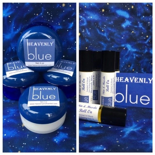 Heavenly Blue compare to  doTERRA Deep Blue Heavenly Blue, Comparable to Doterra, Deep Blue