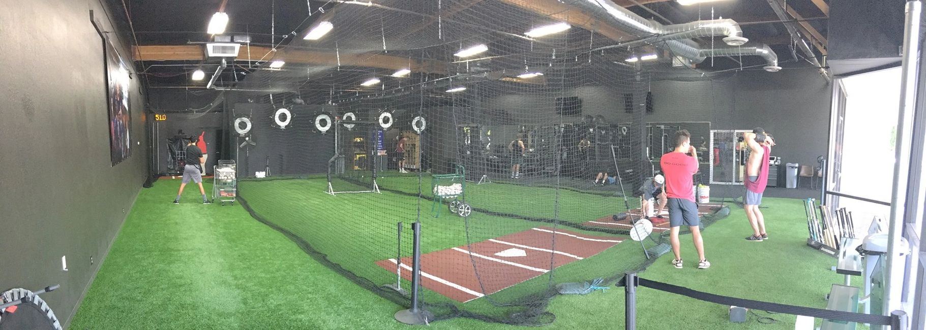 X2 Athletic Performance Facility Inside