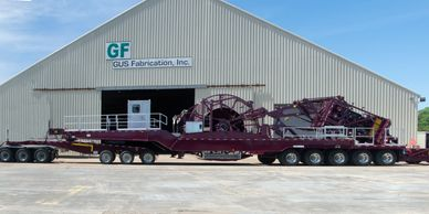 Refurbished Cudd Coiled Tubing Reel Trailer