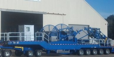 Refurbished Coiled Tubing Reel Trailer