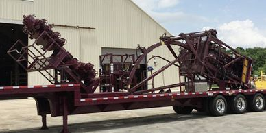 Coiled Tubing Support Trailer