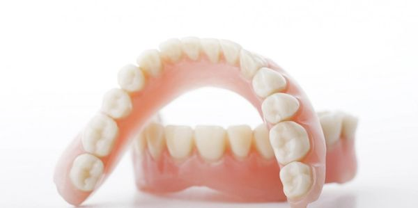 full complete denture upper and lower denture top and bottom denture