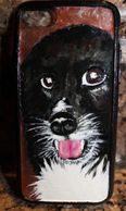 Custom pet portrain phone cases for Dad!   Put in your order early in time for Father's Day!