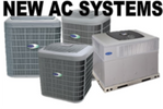 Install new AC system, Carrier air conditioners, Lennox Air Conditioners