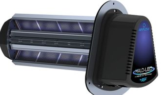 Halo-LED RGF Environment air purifier system