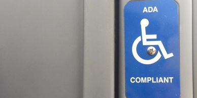 Handicap accessible pots are available
