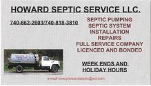 Howards Septic Service