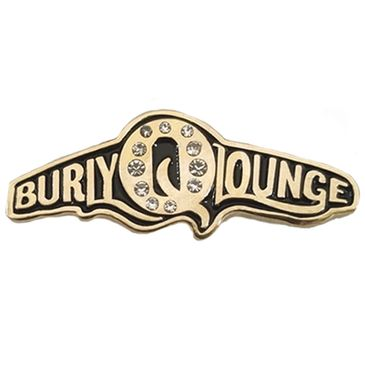 Burlesque enamel pin for Burly Q Lounge