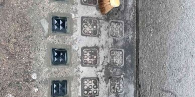 Pavement Lights repair in central London