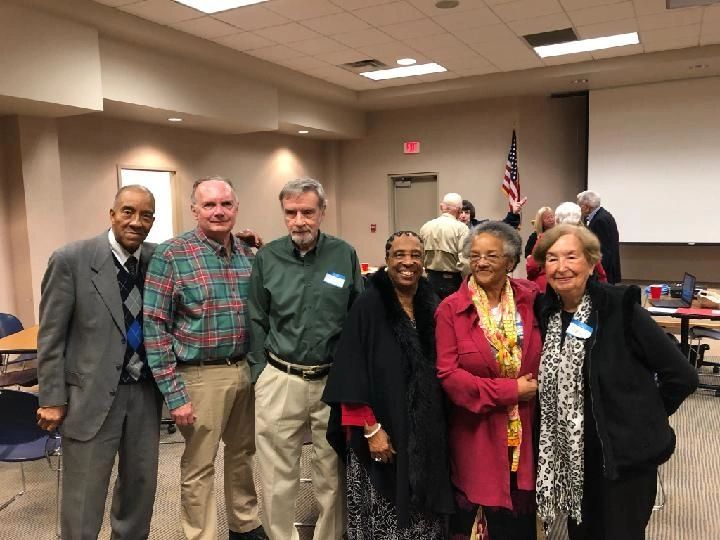 "{""blocks"":[{""key"":""b49pl"",""text"":""Some of the attendees at the 2019 PCHS Fall Dinner meeting on Sunday, Oct. 27 pose for this picture as the meeting ended including (left to right) Preston Young, Ken Klamm, Craig Kirkpatrick, Daisy Young, Lucille H Douglass, and Martha Noland.  Photo by Lisa Wittmeyer."",""type"":""unstyled"",""depth"":0,""inlineStyleRanges"":[],""entityRanges"":[],""data"":{}}],""entityMap"":{}}"