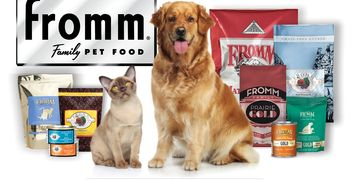 Fromm Pet Food for dogs & cats available locally at Wine Country Pet Boutique & Spa