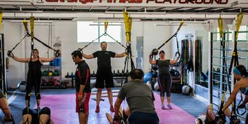 1 Lifestyle fitness gym in auburn ca TRX Group Training Class.