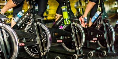 Spin Group Class at 1 Lifestyle Fitness Gym in Auburn CA, Spinning.