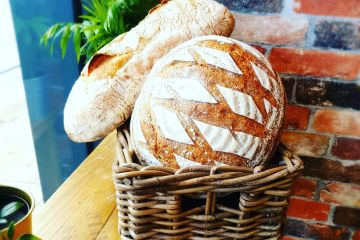 Fresh bread delivered daily