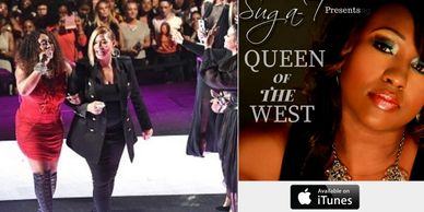 suga t and queen latifah, queen of the west, vh1 female honors