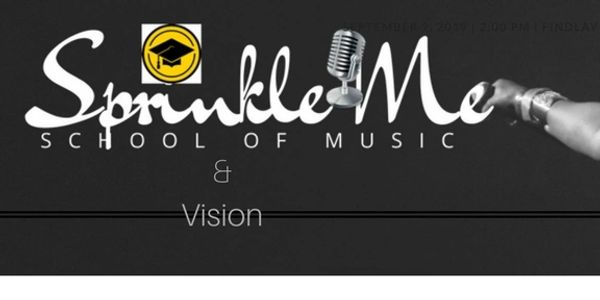 sprinkle me school of music and vision logo