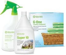 Our cleaning products are all safe for the environment and the entire family.
