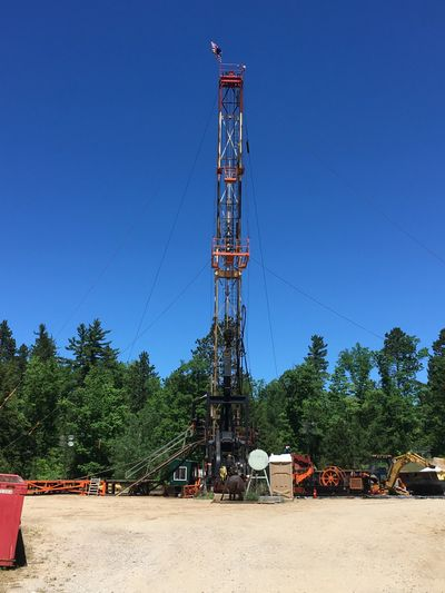 Michigan Drill Rig