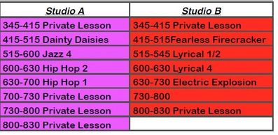 OYT offers a variety of dance classes in Rapid City SD.  We offer private lessons, Hip Hop, Jazz