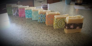 For sale goat milk soap Maine
