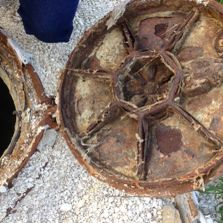 Corrosion in manhole covers