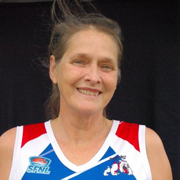 Nelly Clarke Coach of St Pauls Netball Team