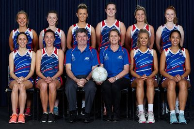 St Pauls Netball team photo