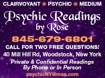 Psychic Readings by Rose Woodstock NY Soulmate Reader - Psychic