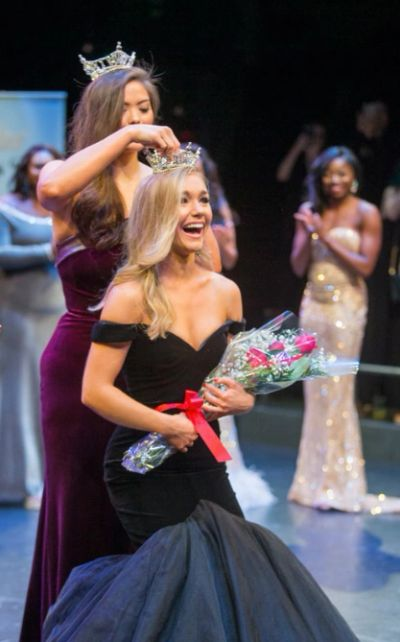 Katelynne Cox, Miss District of Columbia 2019 Crowning Moment