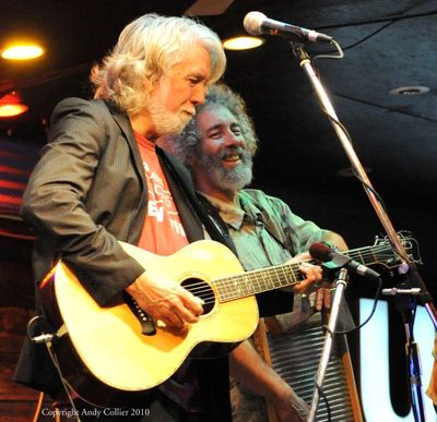 John McEuen & Dan Smith at Knuckleheads 2009.  Photo by Andy Collier