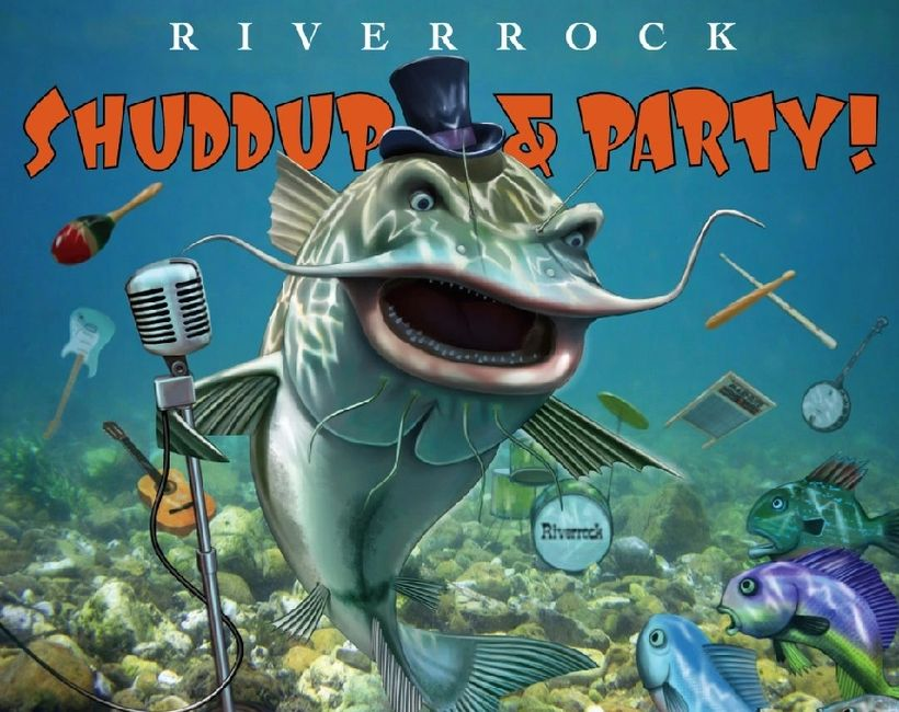 Shuddup & Party! CD cover.  Art by Thomas Gieseke