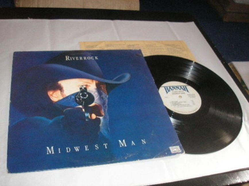 Original Midwest Man LP (1980).  ​Art by Ann Willoughby