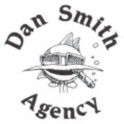 Dan Smith Agency logo. Art by Phil Smith