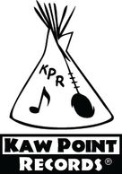 Kaw Point Records logo by Tom Gieseke