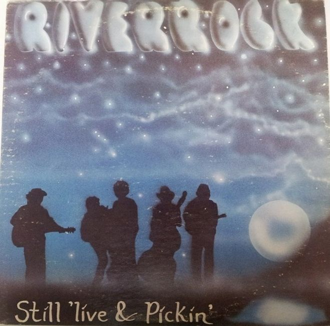 Still 'live & Pickin' LP cover.  Art by Phil Smith