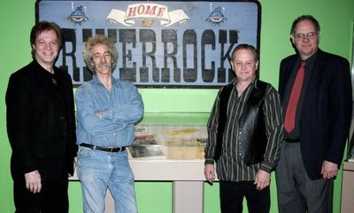"Riverrock in Union Station, K.C. MO at the ""We Want to Rock"" exhibit. Photo by Michael D. Rutherford"