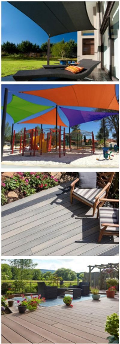 Shade Sails and Composite Decking