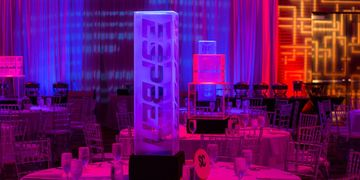best High end bar mitzvah bat mitzvah design and production fabrication lighting for event planning