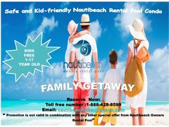 This Special is for Families traveling with kids. Kids will not pay ages from 1-17 years.