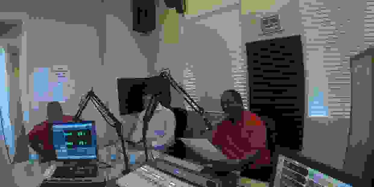 the Porch Talk Radio show, on WTMP / Tampa