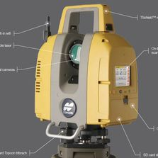 Topcon Sokkia GLS Laser Scanner Accident Reconstruction CSI Mapping Forensic Mapping FARO