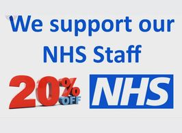 All NHS workers receive 20%iff all hair services .  I.D will be required