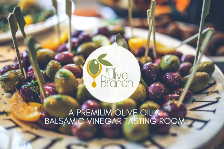 The Olive Branch is a Premium Olive Oil & Balsamic Vinegar Tasting Room