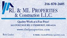 RL&ML Properties & Construction LLC