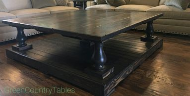 Balustrade coffee table Coffee Tables End Tables Entry Tables Dressers Night Stands Sofa Tables