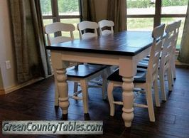farmhouse style furniture Custom Furniture made dining room furniture handmade furniture tables