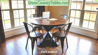 Round Tables handcrafted by GCTables delivered to Oklahoma and surrounding states