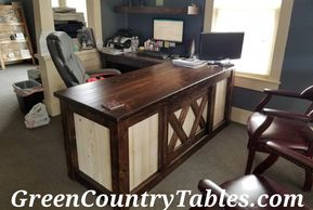 Rustic desk furniture