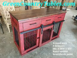 Kennel with 3 drawers 1 door